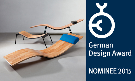 Parkettliege German Design Award 2015